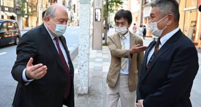Армен Саркисян возвращается из Токио – вечером он будет в Ереване