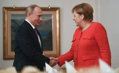 Politico (США): почему в вопросе «Северного потока – 2» Меркель предпочла Россию Соединенным Штатам