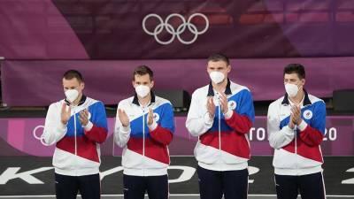 Матыцин поздравил сборные ОКР по баскетболу 3x3 с серебром на ОИ