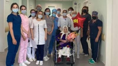 В Подмосковье медики вылечили 101-летнюю женщину от COVID-19