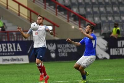 Омский «Иртыш» вылетел из Кубка России в первом же матче