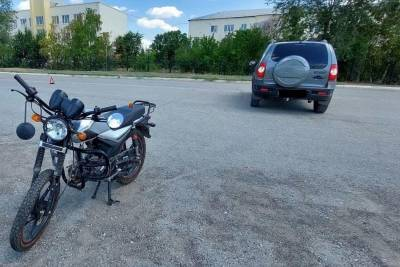 В Башкирии подросток на мопеде устроил ДТП и получил травмы