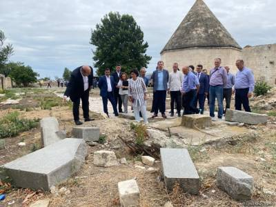 Началась поездка в Агдам представителей Межведомственного центра при Координационном штабе Азербайджана (ФОТО)