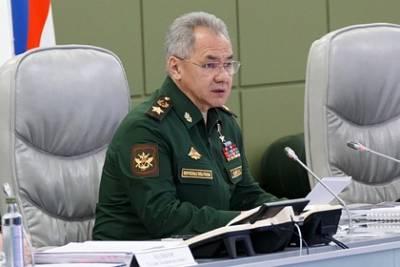 Шойгу поручил сократить сроки постановки на учет в военкоматах