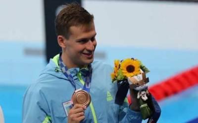 Зеленский поздравил Романчука с бронзовой медалью на Олимпийских играх: Последний раз пловцы завоевывали награды на Играх в 2004 году