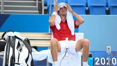 Российский теннисист Медведев проиграл в четвертьфинале Олимпиады в Токио