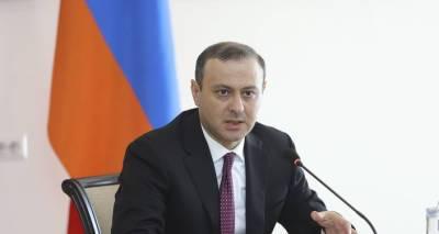 Необходима деэскалация – Григорян и Клаар обсудили ситуацию на границе Армении