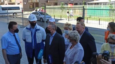 Открытие детской поликлиники состоялось в Красносельском районе Петербурга