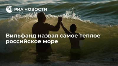 Научный руководитель Гидрометцентра Вильфанд рассказал, в каком море в России самая теплая вода