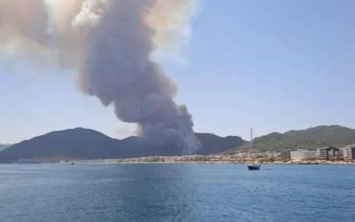 Туристка из Украины показала масштаб пожаров в Турции (ФОТО, ВИДЕО)
