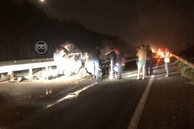 В Пензенской области на трассе М-5 в ДТП погиб водитель