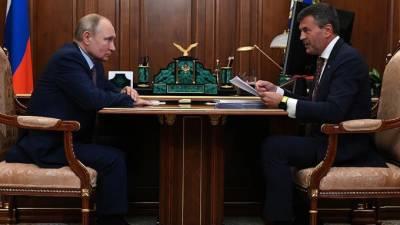 """Путин оценил работу платформы """"Россия - страна возможностей"""""""