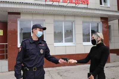 Рязанские полицейские оперативно нашли пропавший сотовый телефон