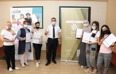 В Азербайджане завершились тренинги с первой группой участников проекта «Моя школа» (ФОТО)
