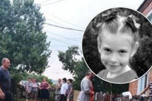 В Харьковской области попрощались с убитой 6-летней девочкой. ФОТО