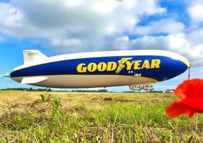 В Прагу прилетел самый большой дирижабль в мире: видео