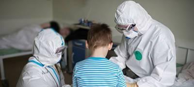 За время эпидемии в Карелии коронавирусом заразились 5414 детей