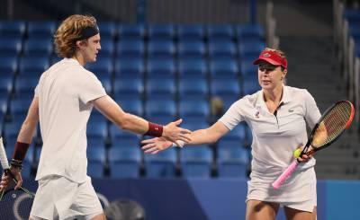Российские теннисисты гарантировали себе три медали на Играх в Токио