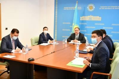 Казахстан и Бразилия договорились об активизации торгово-экономического сотрудничества