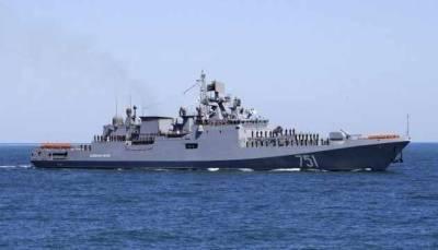Российские боевые корабли отреагировали на действия украинских катеров в Черном море