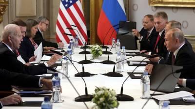 Песков указал на конструктивизм саммита Путина и Байдена в Женеве