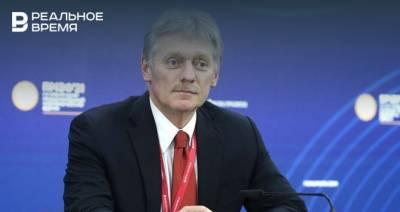 Песков считает, что пандемия коронавируса требует от властей жестких мер
