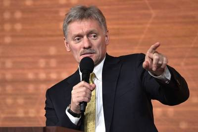 Песков рассказал, что мешает встрече Путина с Зеленским