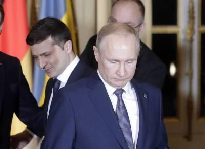 В Кремле назвали главное препятствие для встречи Путина с Зеленским