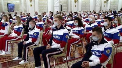 Владимир Путин на встрече с олимпийцами пообещал, что поддерживать спортсменов будут всей страной
