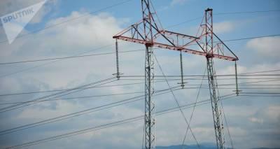 Три района на западе Грузии остались без электроэнергии из-за ветра и ливней