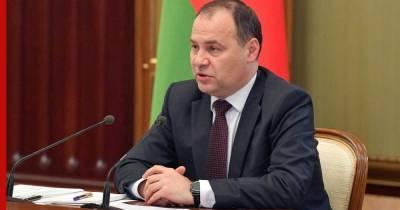 В Белоруссии заявили о скором формировании союзных программ с Россией