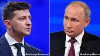 В Кремле рассказали о препятствиях для встречи Путина с Зеленским