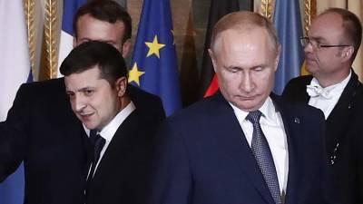 Эксперт оценил вероятность проведения встречи Путина и Зеленского