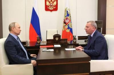 Путин обсудил с вице-премьером Борисовым ход диверсификации предприятий ОПК