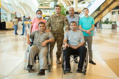 Фонд YAŞAT отправил на лечение в Турцию еще 10 участников Отечественной войны Азербайджана (ФОТО)
