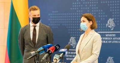 Литва первой в Европе открыла официальное представительство белорусской оппозиции
