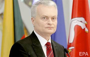 Президент Литвы выразил надежду, что ЕС продолжит санкционное давление на Таракана