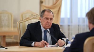 Лавров предостерег США от попытки вести диалог с РФ с позиции силы