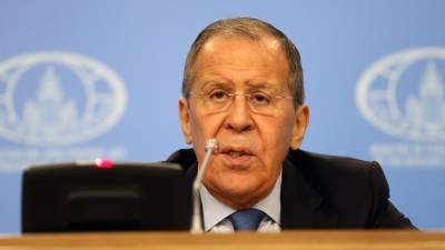 Лавров предостерег США от диалога с Россией с позиции силы