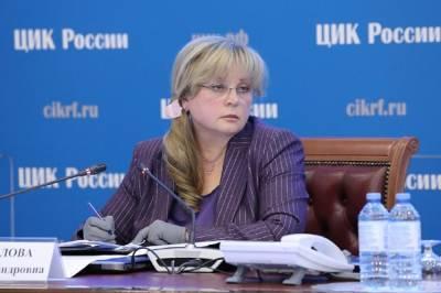 Глава ЦИК Памфилова допустила кардинальные меры при неудовлетворительной работе избиркома Петербурга