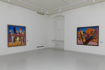 Первые леди Украины и Литвы открыли в Вильнюсе выставку украинского художника