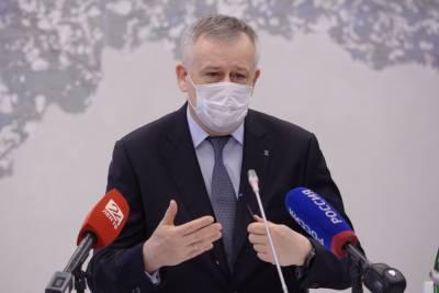 Александр Дрозденко прошел ревакцинацию от коронавируса