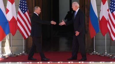 В Белом доме оценили диалог с Россией после саммита Путина и Байдена