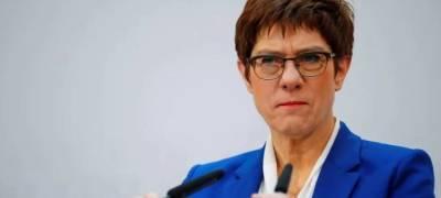 Глава минобороны ФРГ заявила о готовности НАТО к серьёзному диалогу с Россией