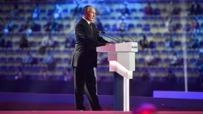 Путин назвал приоритетным повышение качества жизни в городах Кузбасса