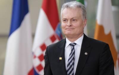 Президент Литвы о РФ: не можем начать никакого диалога с агрессивным режимом