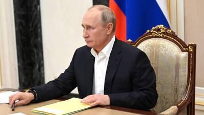 Путин выразил соболезнования семьям и близким погибших при крушении Ан-26