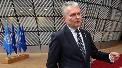 Президент Литвы призвал ЕС поддержать евроинтеграцию Украины, Грузии и Молдавии