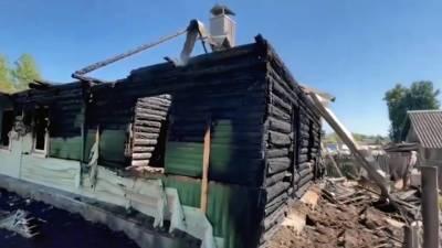 Появились подробности пожара под Смоленском, унесшего жизни 5 детей и 1 взрослого