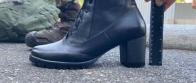 Шнурки и каблук пониже: министр обороны рассказал о новой парадной обуви женщин-военнослужащих